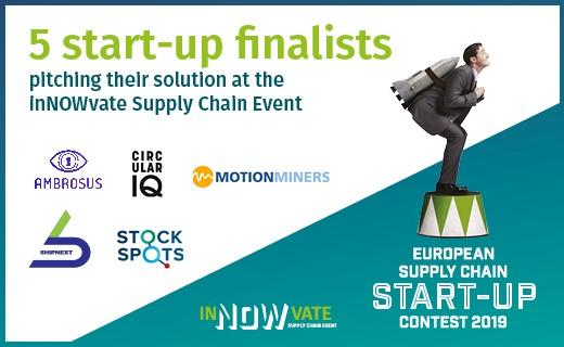 5 finalisten start-up contest 2019