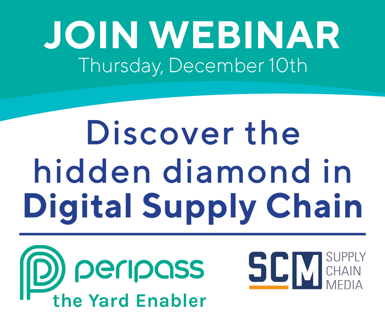 SCM Webinar with Peripass: Discover the hidden diamond in Digital Supply Chain