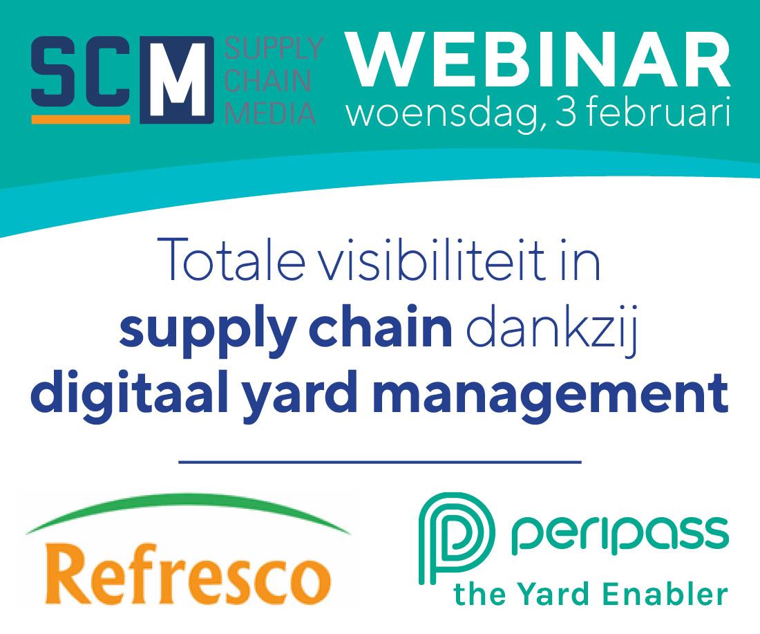 Webinar Peripass: Totale visibiliteit in supply chain dankzij digitale yard management-oplossingen