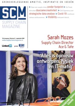 Cover Sarah Mozes Supply Chain Magazine 5