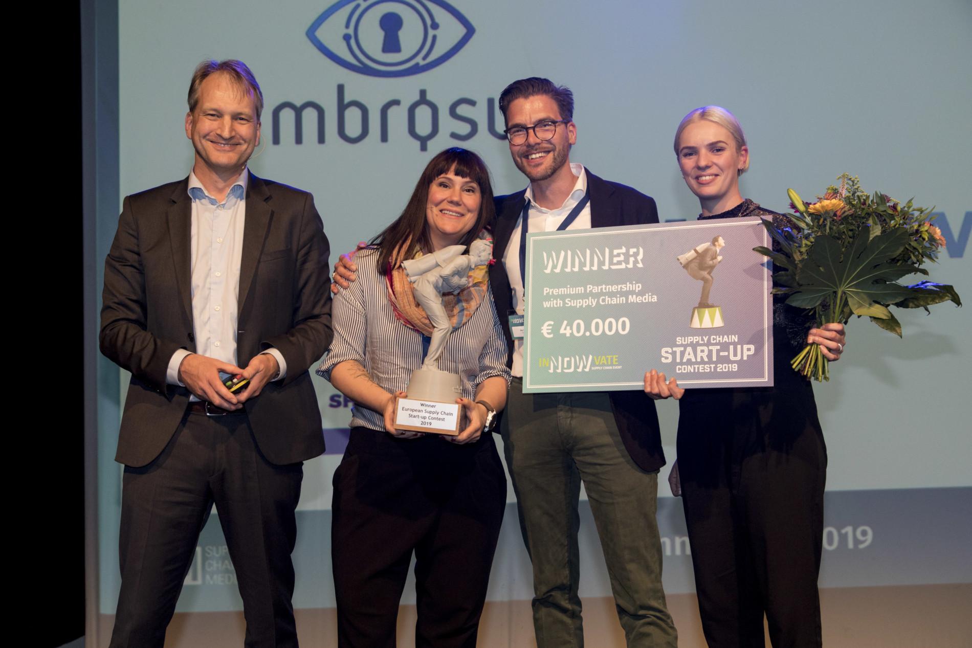Winner start-up contest Circular IQ