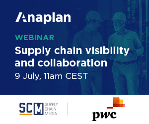 Webinar Anaplan Supply chain visibility & collaboration 9 juli