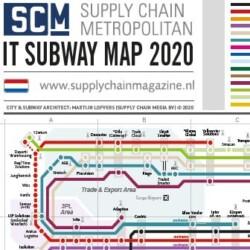 IT Subway Map 2020 NL