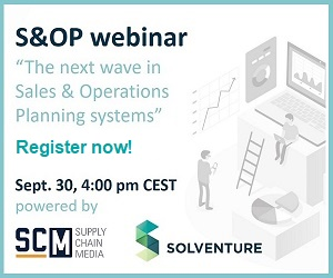Webinar Solventure The next wave in S&OP